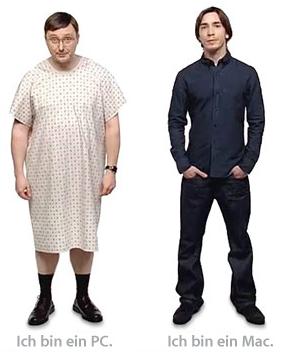 «Ja zum Mac»-Werbung von Apple