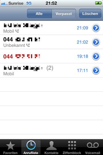 tb43.com   TechBlog43 Steinzeitliches Telefonieren mit dem iPhone ...