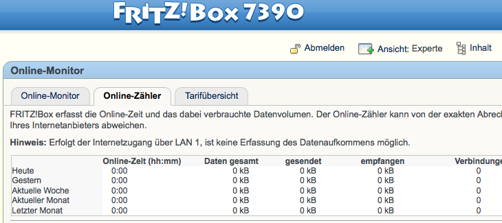 zugang fritzbox internet
