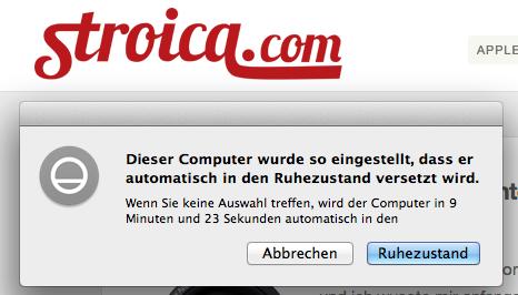 mac automatisch ausschlaten 2