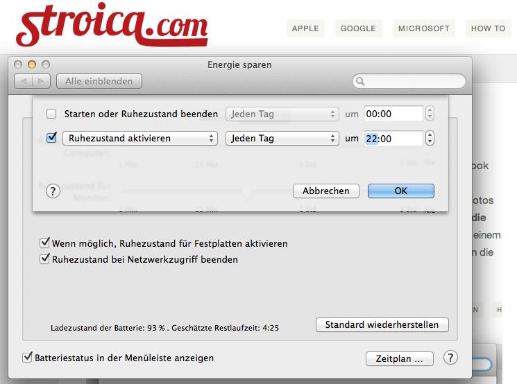 mac automatisch ausschlaten 3